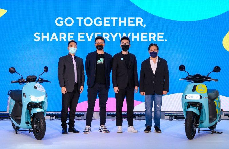 GoShare宣布增加台南隨借隨還以及熱門景點定點借還的業務。(GoShare提供)