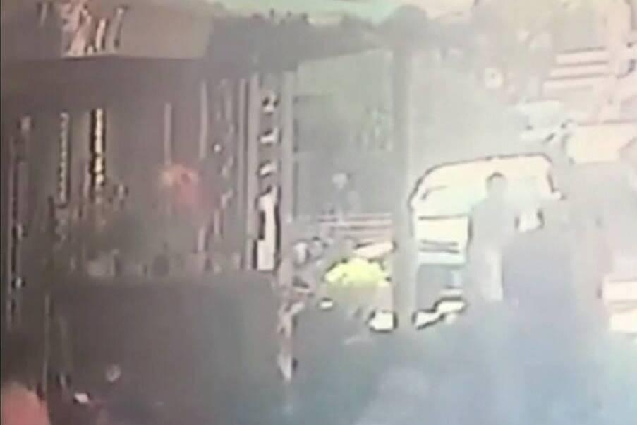 影/男子持槍搶銀樓被打傷 就醫被捕