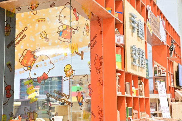特力屋手創空間首次與三麗鷗跨界聯名。圖/特力屋提供