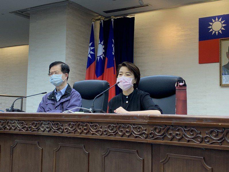 台北市副市長黃珊珊防疫會議後表示,北市需要的不是協助,而是需要中央授權與同意。記者趙宥寧/攝影
