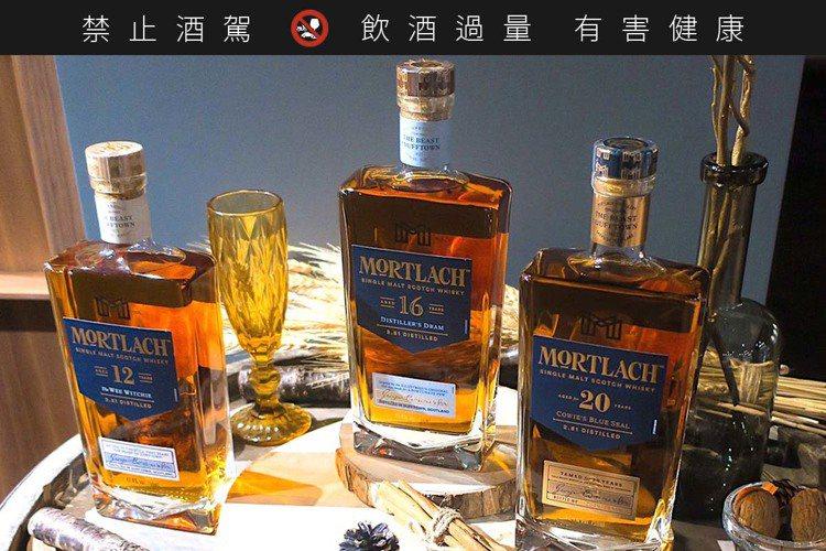 過往是集團中勾兌高價調和威士忌的不傳之秘,現在慕赫也有12、16與20年三種年份...