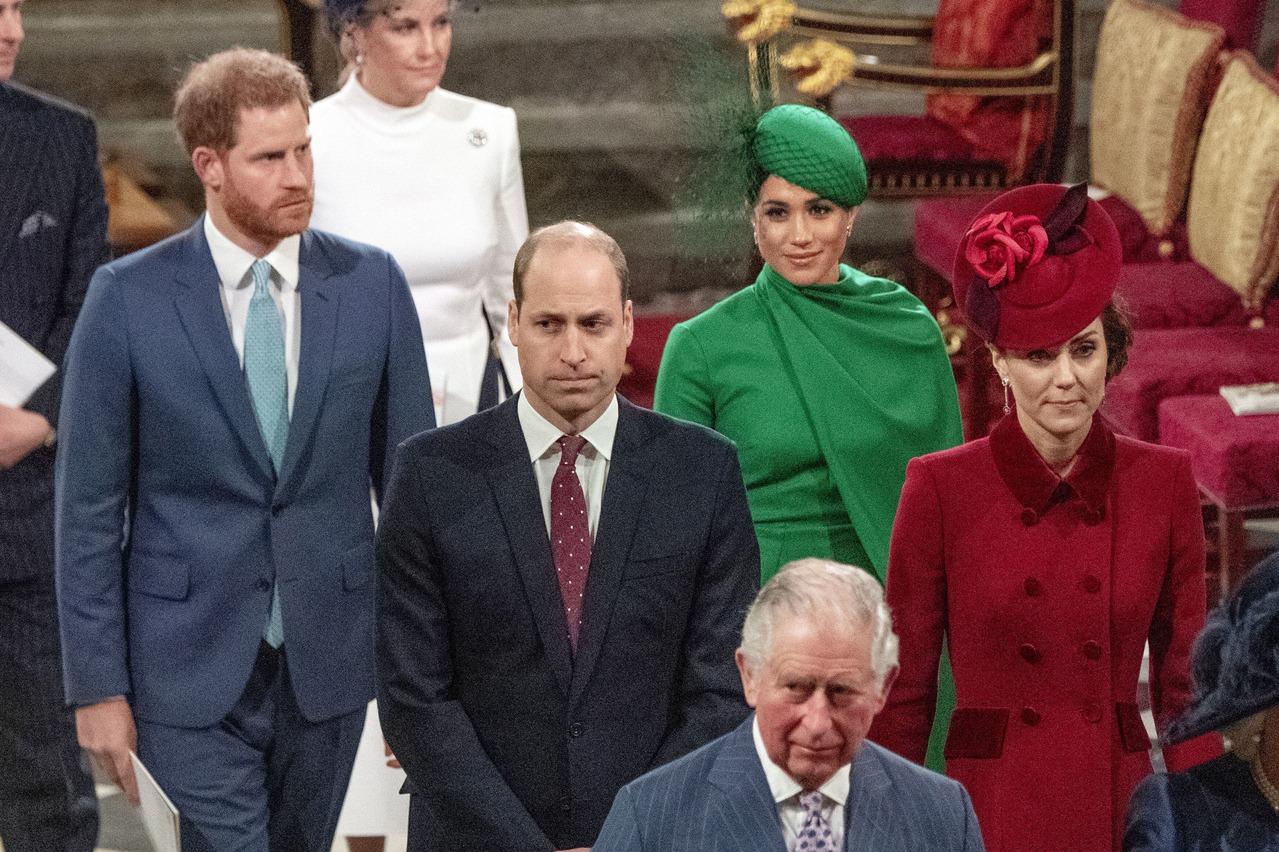 英國王儲查理染疫 傳梅根禁止哈利返國探視
