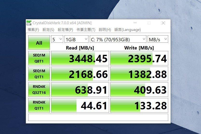 硬碟跑分因雙通PCIe x4 SSD加持下,跑分完全電競等級,將三星製品發輝極致...
