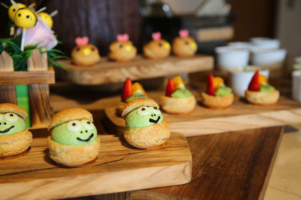 雲品溫泉酒店晚餐提供兒童月專屬餐檯,特別設計九款兒童專屬餐食,讓大小朋友用餐更「...