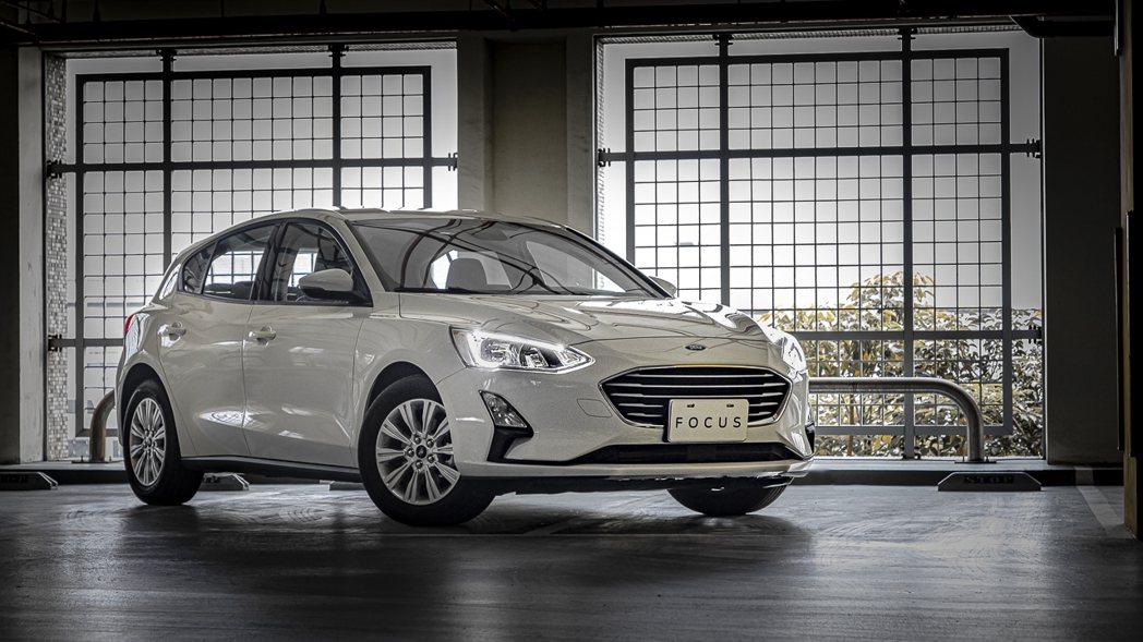 Ford Focus日前才剛發表20.5年式車型,如今整體產能就受疫情影響。 圖...