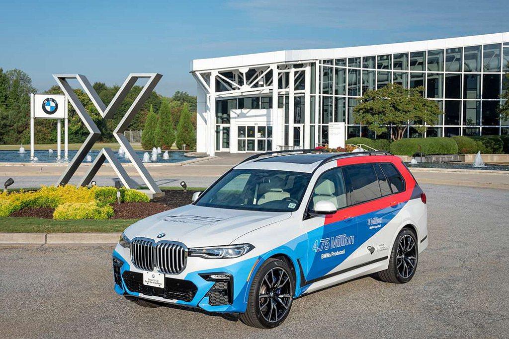 BMW X休旅生產重鎮美國Spartanburg廠,也將因為疫情而暫時停工。 圖...