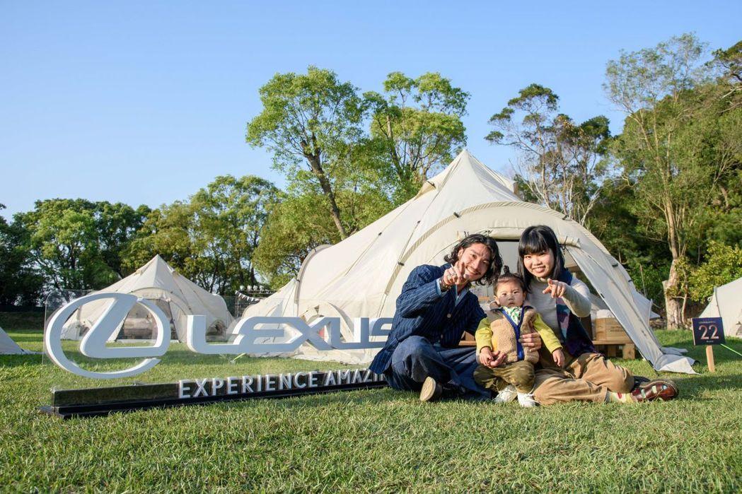 LEXUS導入日本頂級露營品牌Snow Peak的露營設備,讓車主體驗舒適奢華的...