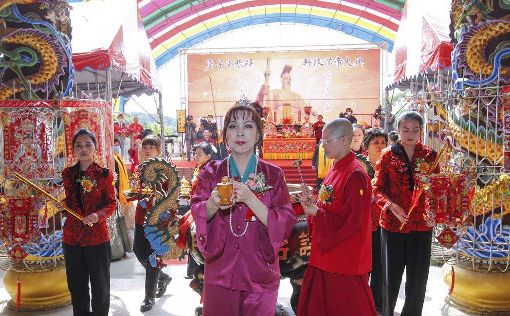 典禮於桃園黃帝雷藏寺黃帝大廟舉辦,循傳統儀軌進行,莊嚴肅穆。