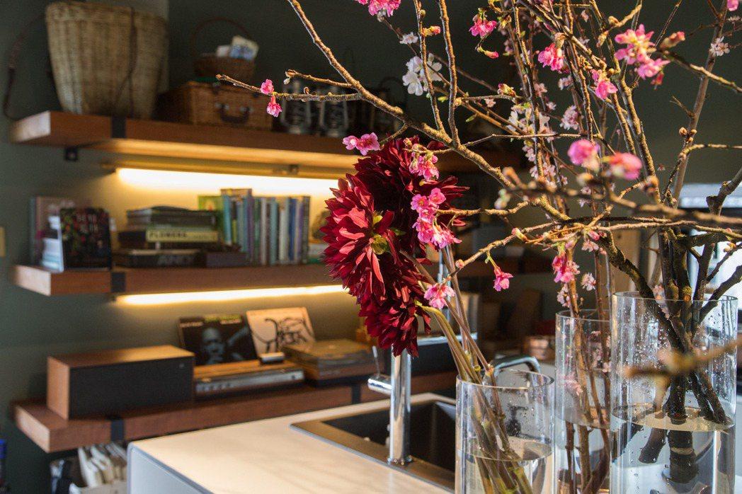 凌宗湧的CN Flower是深受設計與時尚圈喜愛的花藝品牌。 陳立凱/攝影