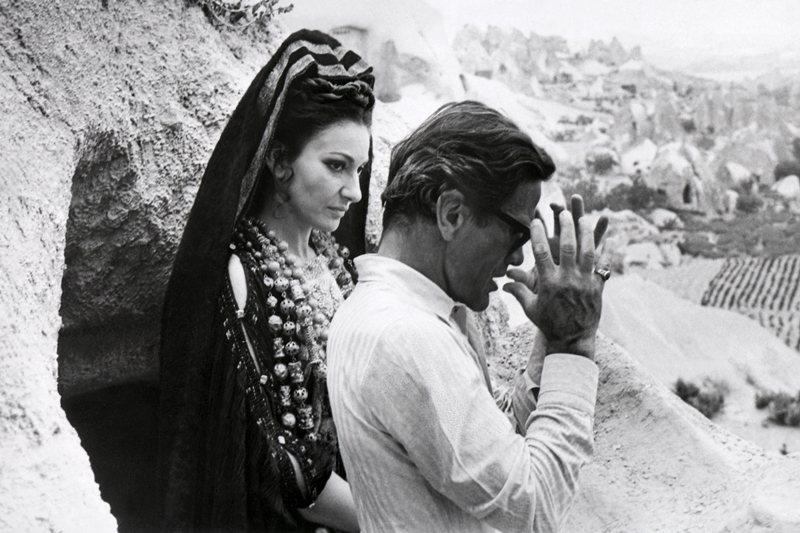 歌劇一代女神卡拉絲(Maria Callas),攝於1977年。 圖/法新社