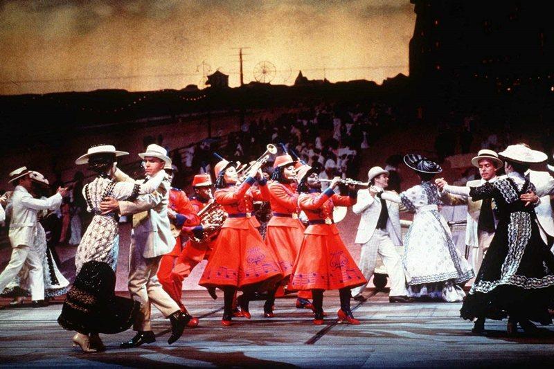 麥克納利的音樂劇力作無疑就是《爵士年華》(Ragtime),攝於1997年。 圖/美聯社