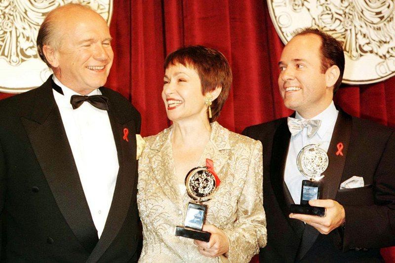 《爵士年華》(Ragtime)曾奪得東尼獎,攝於1998年。 圖/路透社