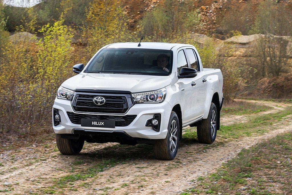 Toyota Hilux目前仍是全球最熱賣的中型皮卡,追趕對手有Ford Ran...