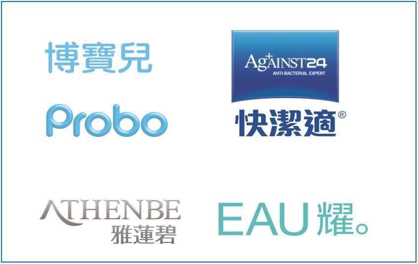 銀泰佶旗下四大品牌暢銷亞洲市場。銀泰佶/提供