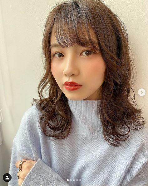 來自成蹊大學經濟學部的3年級生松本楓加今年21歲。圖擷自instagram