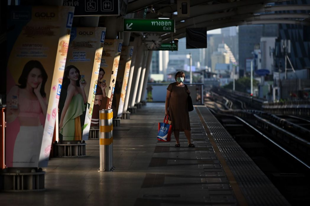 3月27日攝於泰國。 圖/法新社