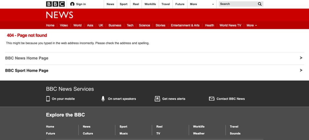 BBC昨晚更新報導後,又直接刪除該篇報導。截自BBC網站