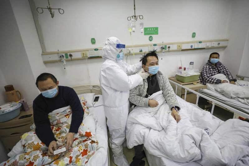 大陸新冠肺炎新增確診病例多日來來自境外輸入的為大宗。圖/取自美聯社