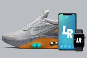 這到底什麼黑科技?NIKE第一雙智能鞋 透過手機就可調整鞋帶鬆緊、還能發出夢幻光芒