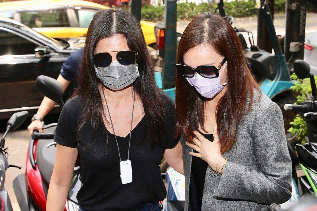 林熙蕾(左)、曾韾瑩。記者林柏東/攝影