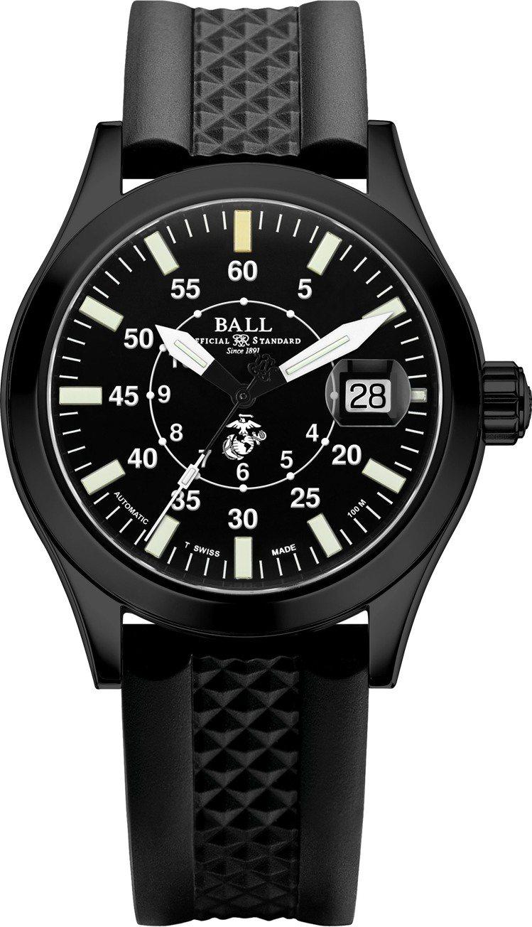 Ball Engineer II U.S. Marine Corps自動腕表,碳...