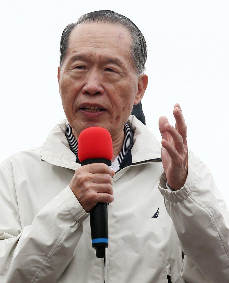 國民黨前副主席陳鎮湘(圖)曾拜會國民黨立院黨團總召林為洲,表達希望讓吳斯懷進入外交國防委員會一展所長。圖/報系資料照片