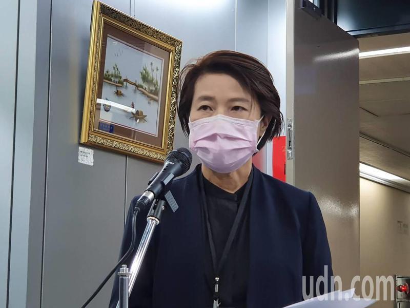 台北市副市長黃珊珊。記者楊正海/攝影