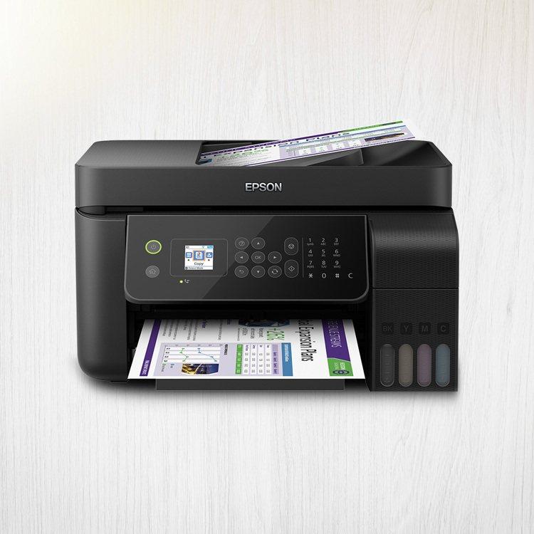 EPSON L5190連續供墨複合機,燦坤會員價6,990元。圖/燦坤提供