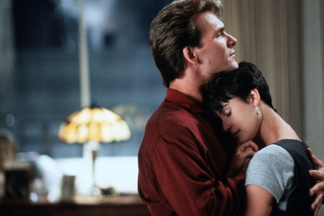 浪漫經典《第六感生死戀》1990年台美票房之冠。捷傑提供