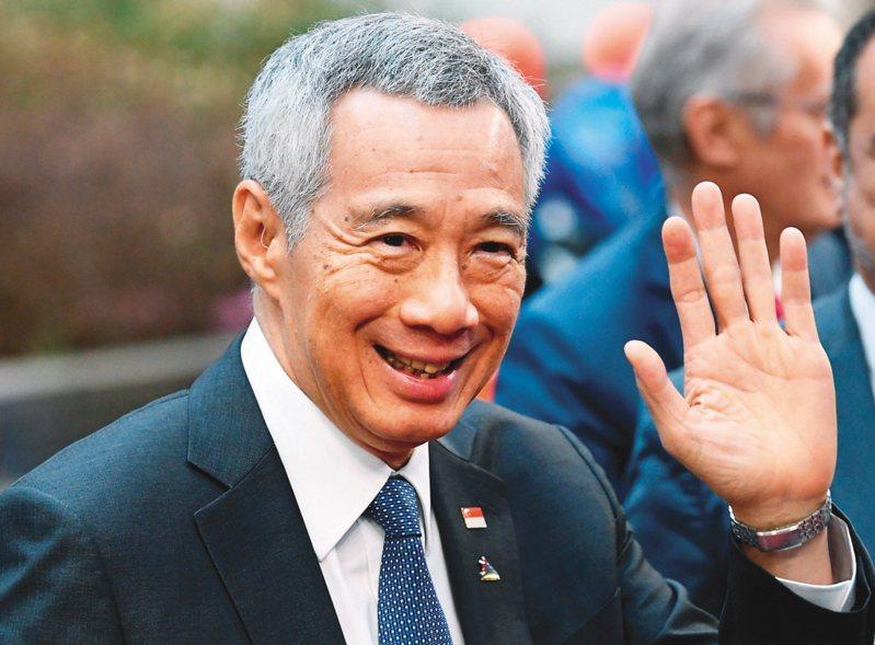 新加坡總理李顯龍發文哀悼郝柏村。路透