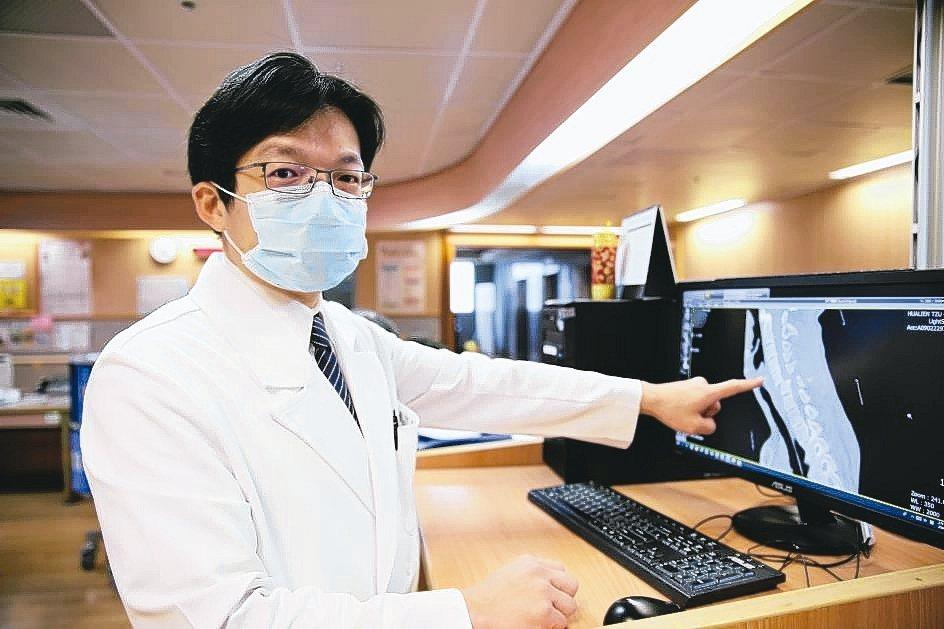 花蓮慈濟醫院神經脊椎微創外科主任洪祥益。 花蓮慈濟醫院/提供
