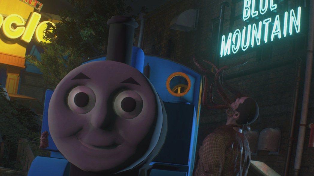 惡靈古堡3的追跡者被改成湯瑪士小火車