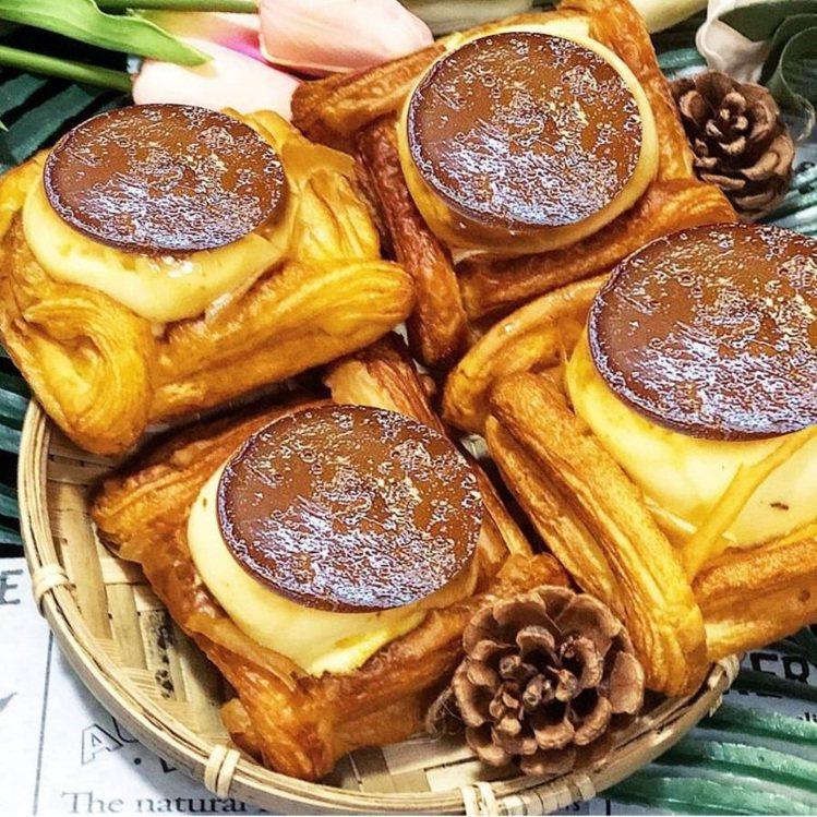 部落客帶路吃超療癒「丹麥烤布丁」。圖/FB/Blog: 舞食旅台灣。amos的...