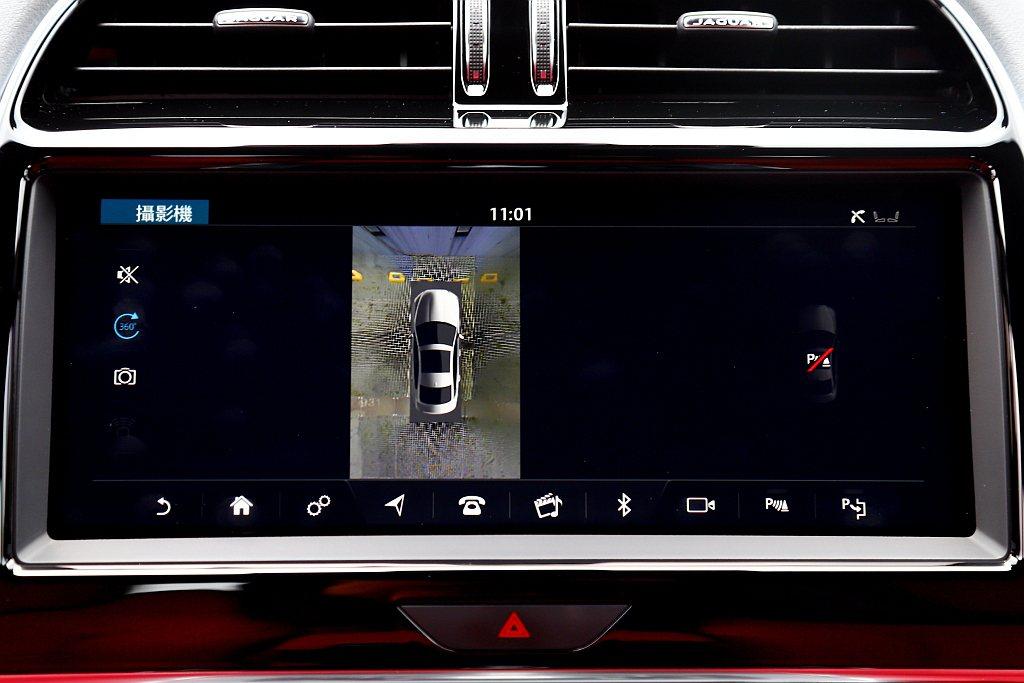 小改款Jaguar XE P300 R-Dynamic SE增配360度環景顯影...