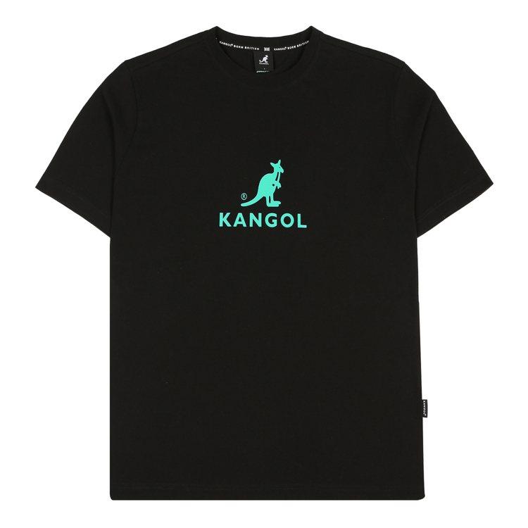 袋鼠圖騰Oversize短袖T恤1,980元。圖/Kangol提供