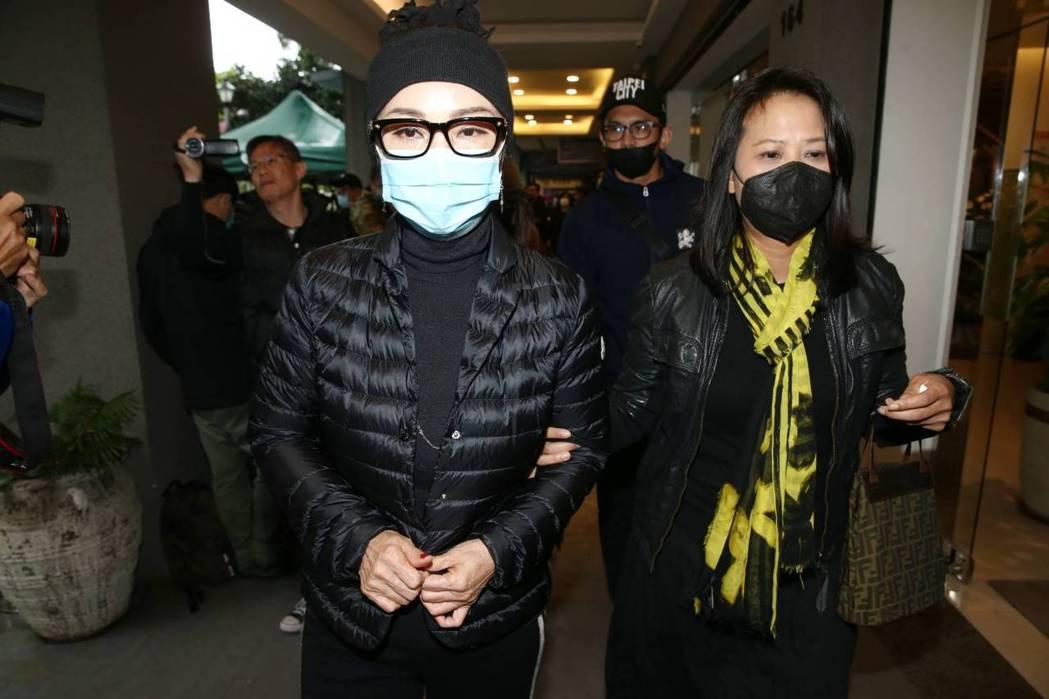 陳美鳳希望辛龍堅強。記者曾原信/攝影