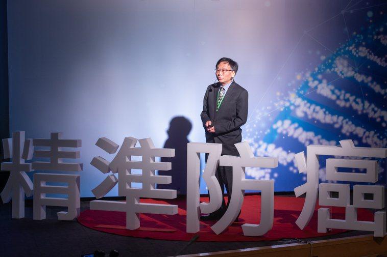台大公衛學院副院長陳秀熙說,AI大數據讓更多癌友能夠接受精準醫療,治療效果更好。...