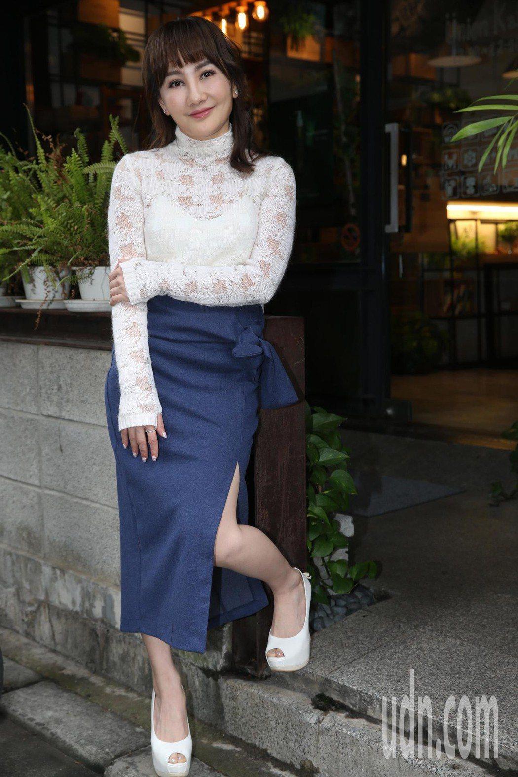 「財富女神」王宥忻勇闖歌壇。記者林俊良/攝影