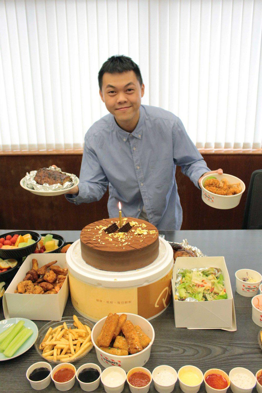 曾昱嘉歡慶31歲生日。圖/福茂唱片提供