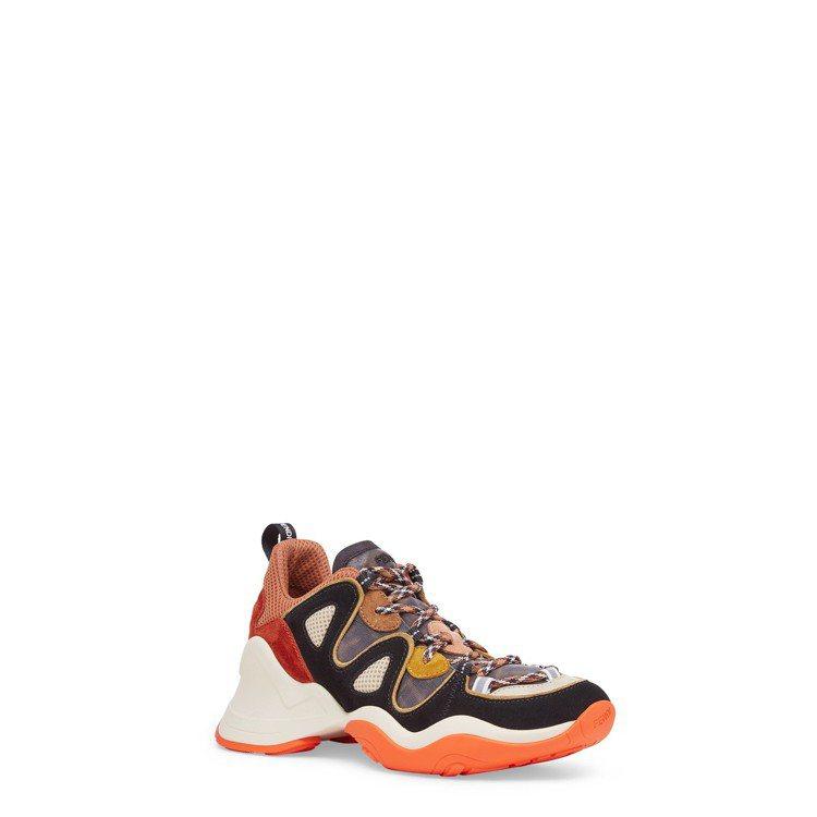 FENDI FFluid休閒鞋,售價28,700元。圖/FENDI提供