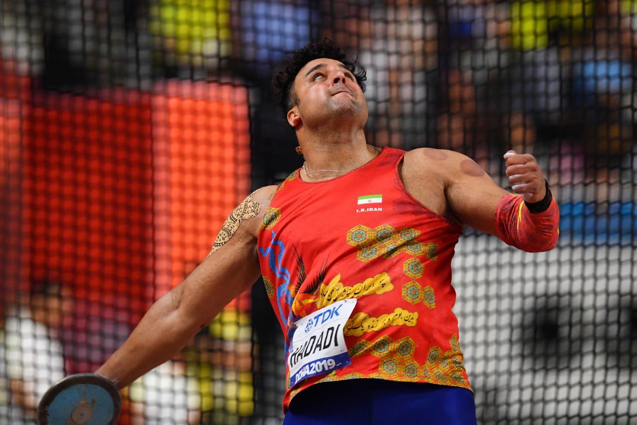 田徑/亞洲鐵餅紀錄保持人 倫敦奧運銀牌伊朗名將確診