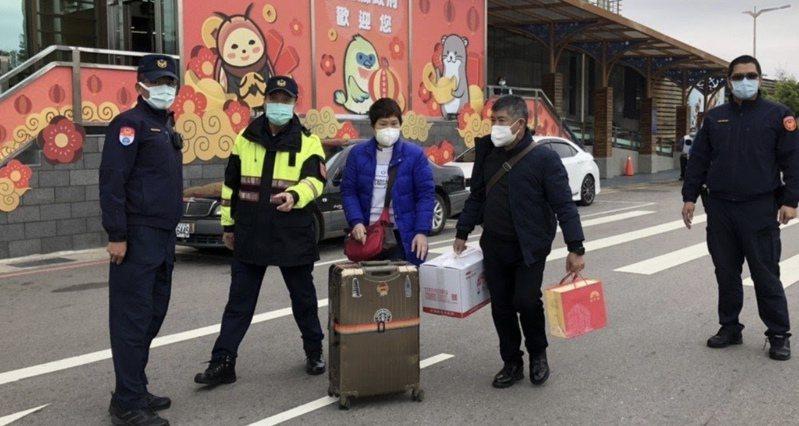 江姓夫妻今年2月試圖要闖小三通,目前已被送回居家檢疫。圖/疾管署金門辦事處提供