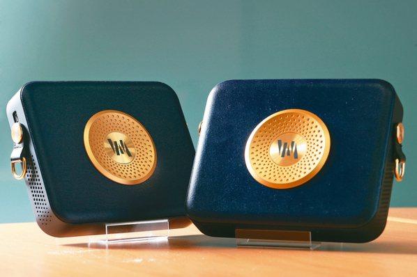 麥成文創開發的「VM-Fi聲麥無線」。 記者林澔一/攝影