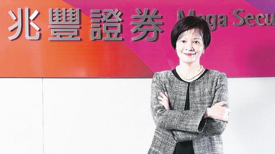 兆豐證券董事長陳佩君。 本報資料照片