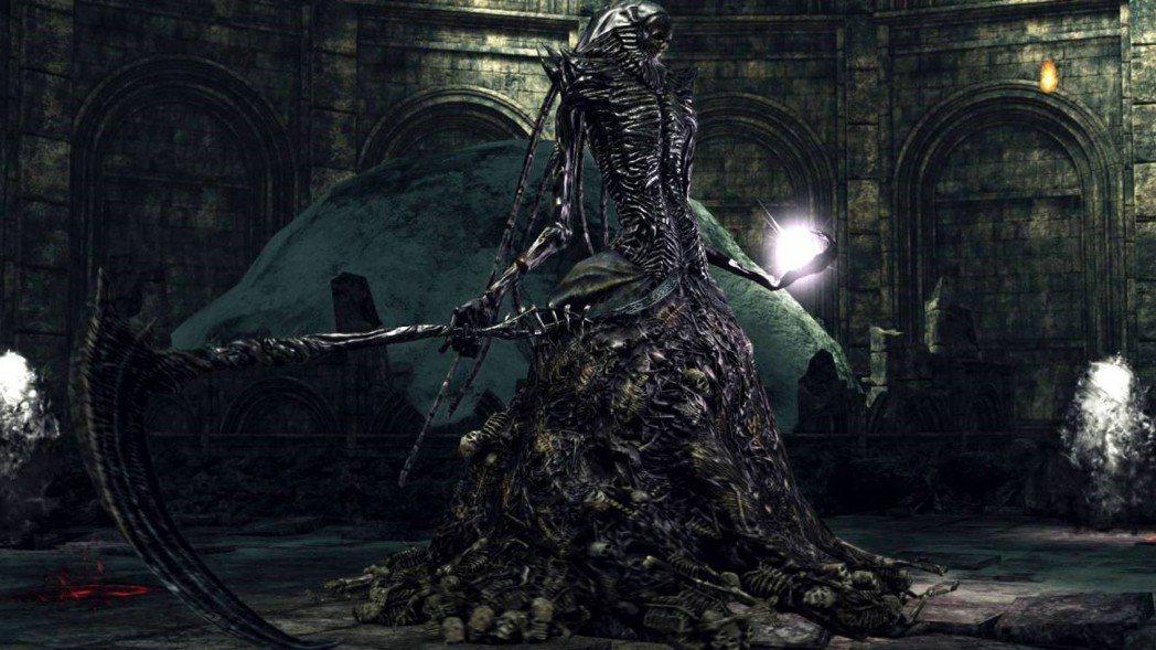 《黑暗靈魂II》最終BOSS王妃杜娜湘卓。(來源:YouTube)
