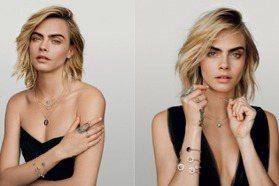 帥氣與性感並存!Dior Joaillerie找來「搞怪超模」卡拉迪樂芬尼演繹清新率性的奢華珠寶