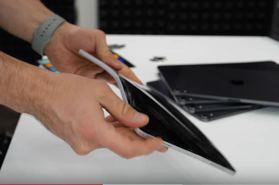 iPad Pro 2020太薄徒手可拗爛? 外國實際測試原理好簡單