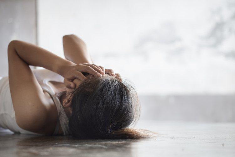 憂鬱跟體力有關? 研究說從2個舉動能知道。圖/常春提供