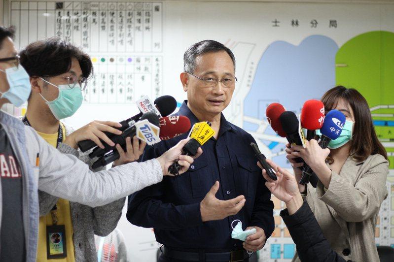 警政署長陳家欽。記者李隆揆/攝影