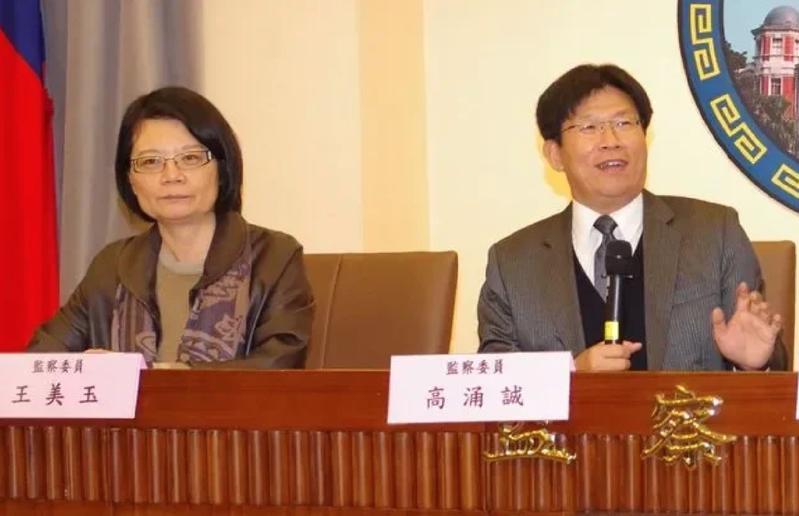 監委王美玉(左)、高涌誠(右)申請調查私菸案,調閱相關卷宗卻處處受阻。 圖/聯合報系資料照片